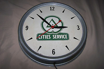 Cities Service Gas/Oil Electric Clock