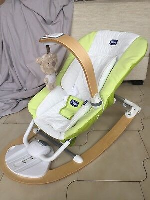 Chicco I-Feel Luxury Baby Bouncer Rocker Excellent Condition
