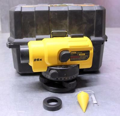 DEWALT DW096PK 26X Automatic Optical Level w/CASE - NO RESERVE