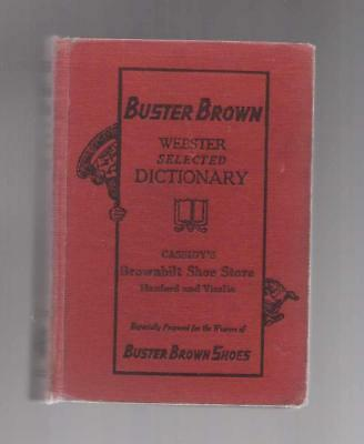 Buster Brown Webster Dictionary, Buster Brown Shoes Sponsored 1927