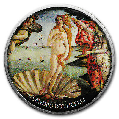 2017 Cameroon Silver European Painting (The Birth of Venus)