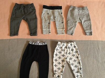 Baby Boys Mixed Bundle Pants Leggings Size 00 Country Road Cotton On Bonds