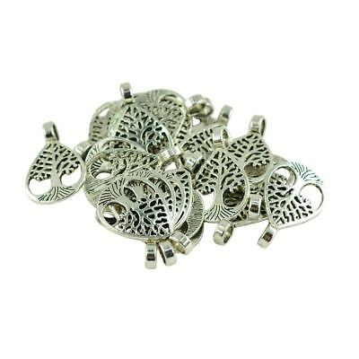 20pcs Retro Antique Silver Tree of Life Charm Pendant DIY Jewelry Makings