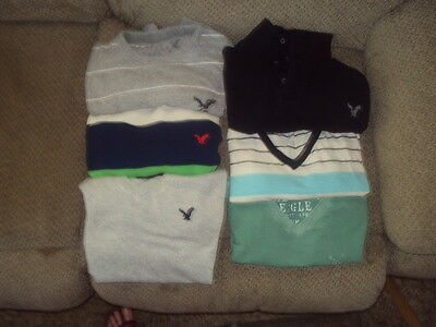 Lot Of American Eagle Men's/boys/juniors Clothes-Size S And Xs