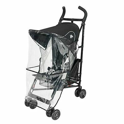 Maclaren Raincover Volo/Globetrotter Baby Stroller Weather Shields, New