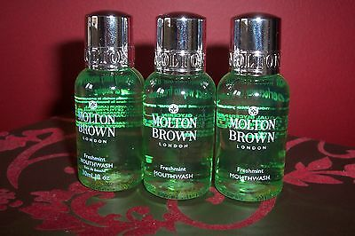 Molton Brown Mouthwash 3 x 30ml New