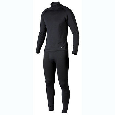 Dainese Air Breath Set D1 Black / Black / Black Moto Base Layer Suit | All Sizes