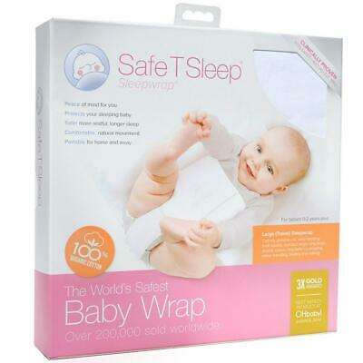 Safe T Sleep Large Cot Baby Wrap Free Shipping!