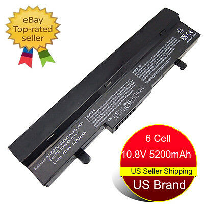6 Cell Laptop Battery for ASUS Eee PC AL32-1005 AL31-1005 ML32-1005 1005 1005HA