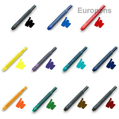 Lamy Fountain Pen Ink Cartridges Compatible T10 Refills -Choose from 15 colours!