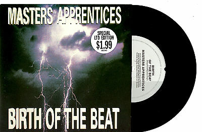 "The Master's Apprentices - Birth Of The Beat - 7"" 45 Vinyl Record Pic Slv 1988"