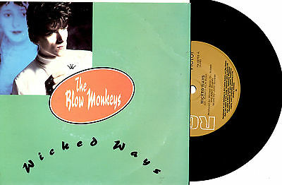 "The Blow Monkeys - Wicked Ways - 7"" 45 Record Pic Slv 1986"