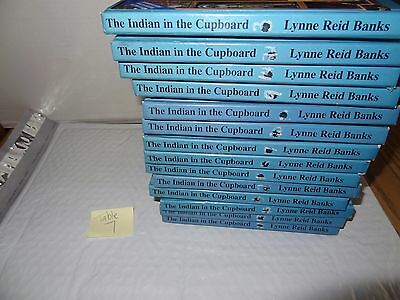 LOT of 14 Hardcover Books: The Indian in the Cupboard by Banks