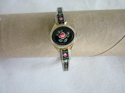 Ravisa women's hand winding Swiss Made watch. 17 jewel movement.