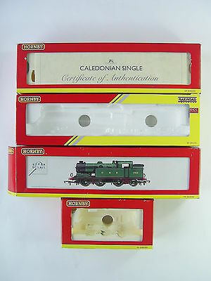 4 Hornby Empty Boxes for Caledonian Single, A4, N2 & J52 Class Locos - OO Gauge