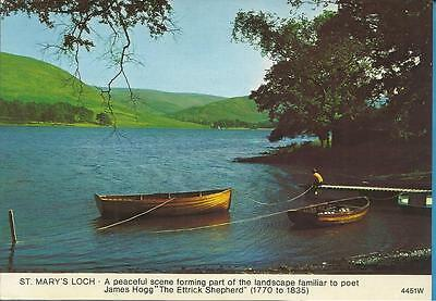 Whiteholme Postcard -  ST MARYS LOCH IN THE SCOTTISH BORDERS