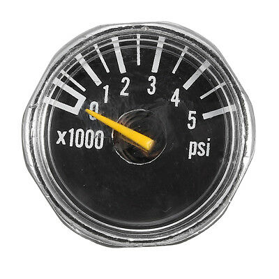 Micro Gauge 1'' 5000 psi High Pressure for HPA Paintball Tank CO2 PCP