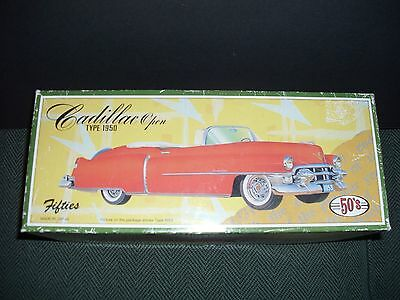 JAPAN 50s RED CADILLAC CONVERTIBLE TIN CAR