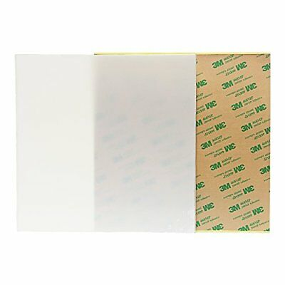 Wisamic PEI Sheet for 3D Printing with 3M 468MP Adhesive Tape, Multiple Sizes