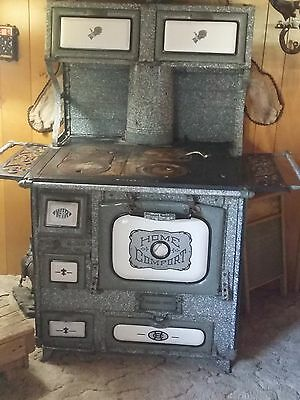 Antique Home Comfort Wood Burning Cook Stove