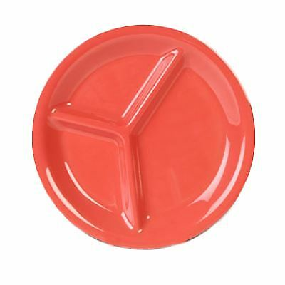 Thunder Group CR710RD Compartment Plate (Dozen)