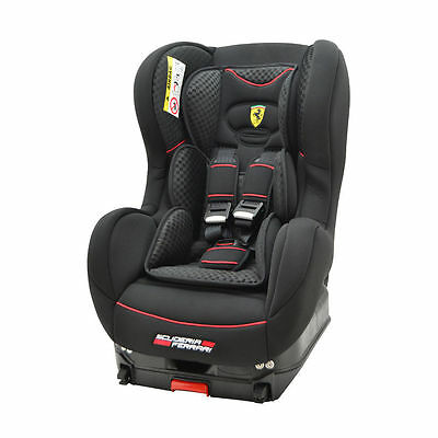 Ferrari Cosmo SP Isofix Group 1 Car Seat in Black