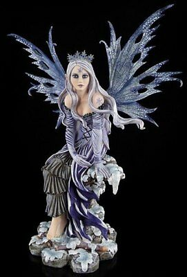 Big Elf - Snow Flake - Fairy wings - Fairy Statue XL