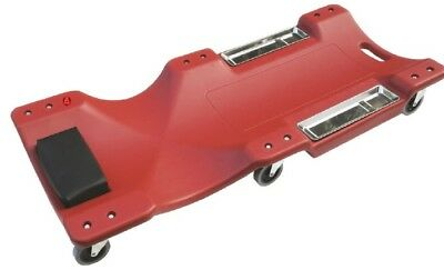 """Hilta Car Creeper 40"""" with magnetic parts tray"""