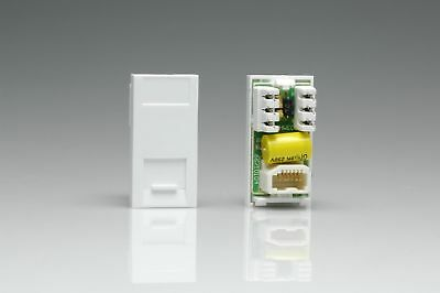 Varilight - Telephone Master Module In White. This Master Voice Module is a