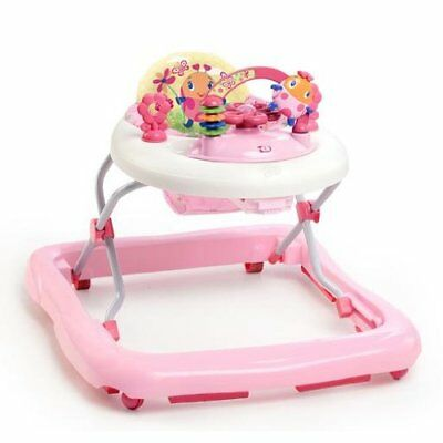 Bright Starts Walk-A-Bout Walker Juneberry Delight Baby Walkers, New