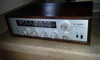 Vintage TELMAR  Stereo Receiver AM/FM  Phono  input EXCELLENT REAL WOOD