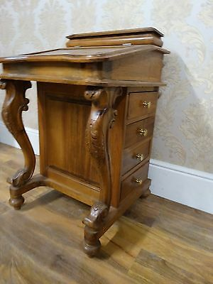 Very Pretty Victorian Style Light Hardwood Davenport, writing desk, bureaux