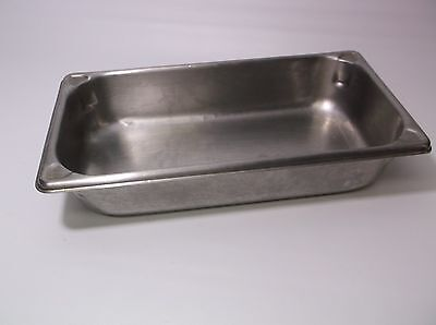 Vollrath 2inch Deep Third Pan 1/3 Size Shallow Stainless Steel Steam Table Pan