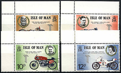 Isle Of Man 1975 SG#63-6 Tourist Trophy TT Motorcycle Races Cto Used Set #D52412