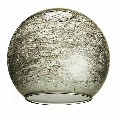 "Smoked Glass Lampshades. Fits Next ""Lana"" ceiling lights (replacement orb ball)"