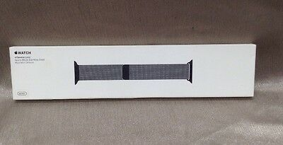 BRAND NEW Apple Watch Band - 38MM MILANESE LOOP SPACE BLACK MLJJ2AM/A, FREE SHIP