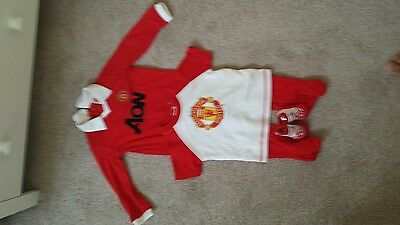 Official Manchester Merch United Baby Clothes