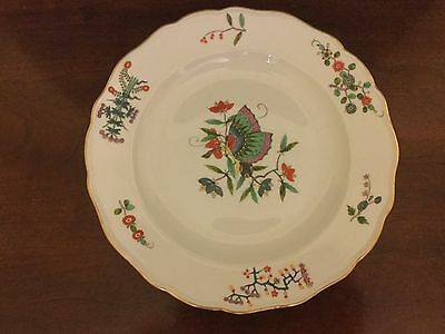 Meissen Kakiemon style plate with Chinese butterfly