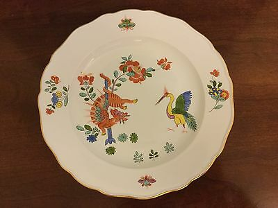 Meissen Kakiemon style plate with bird and the dragon