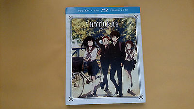 Hyouka: The Complete Series - Part One ( Blu-ray DVD, 2017, 4-Disc Set)