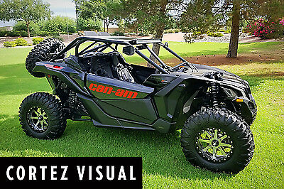 2017-2018 Can-Am Maverick X3 (2 Seater / Both Doors and Rear Fenders) Decal Kit