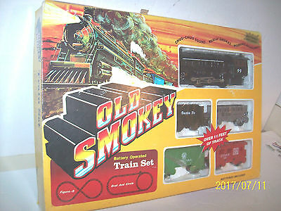 Vintage Old Smokey Battery Operated Train Set 2825