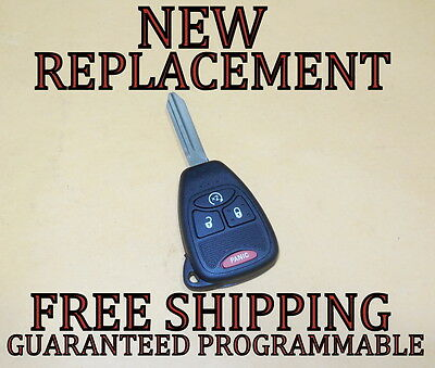 New W/ Oem Electronics Jeep Keyless Remote Head Key Fob Transmitter 04589621