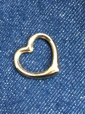 9ct Gold Heart Pendant Charm