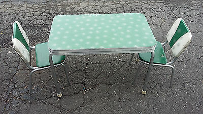 MID CENTURY Starburst Formica Child Table  COFFEE TABLE Atomic Art Deco