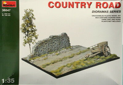 COUNTRY ROAD Miniart Kit 1:35 MIN36047