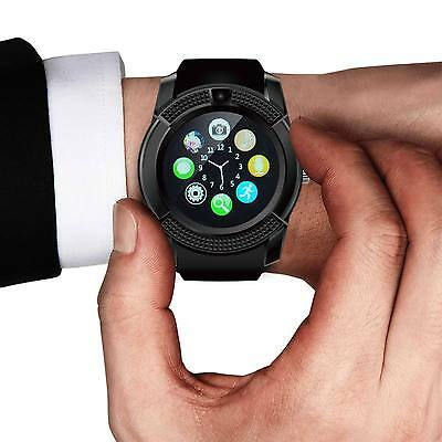 Bluetooth Smart Wrist Watch Phone Mate For Android IOS Samsung iPhone LG hTC ZTE