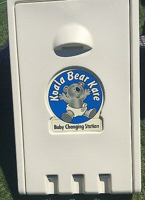 Koala Kare Products Vertical Baby Changing Station