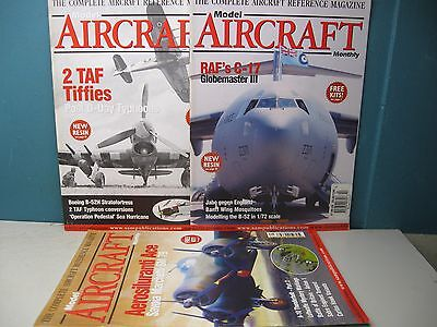 Model Aircraft Monthly Magazines Lot Of 3 Issues From Volume 3 2004