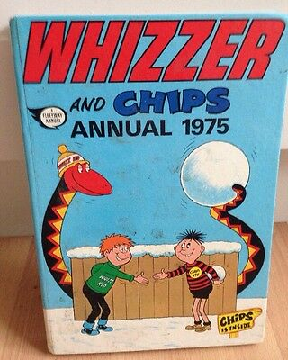 1975 (Rare) Whizzer & Chips Annual